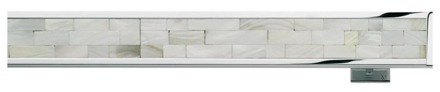 67 Alluminio lucido - MB Madreperla bianca