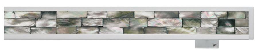 81 Alluminio satinato opaco - MG Madreperla grigia