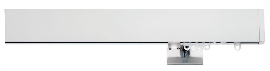 6BNL Alluminio laccato bianco - Alluminio lucido