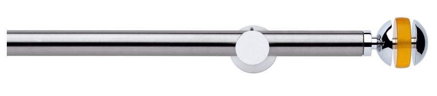 194 Satin stainless steel - Polished chrome - 03G Chrome - Yellow  - DESIRE' ∅20